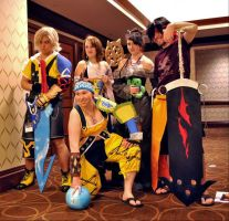 Heroes of Spira by andreamakesthings