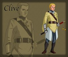 Clive the Fencer by ArofaTamahn