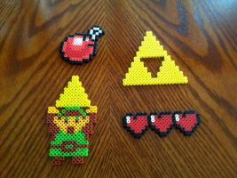 Legend of Zelda Bead Sprites by Night-TAG