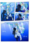 Drowning is magic finale by Darkenrok