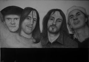 Red Hot Chili Peppers by Polonx