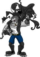Lobo Vs Venom by BrainTreeStudios