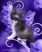 Amethyst Cat by MelissaDawn