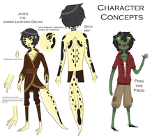 Random Character Concepts (Comment if you fav) by XombieJunky