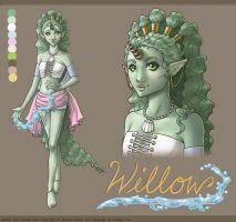 Willow Model Sheet for Brianne by sketchtastrophe