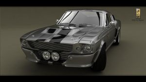 Mustang Shelby GT 500 1967 render6 by Siegfried-Ukr