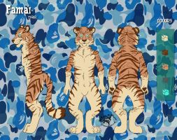 Comm: Famai Tiger by BlueWolfCheetah