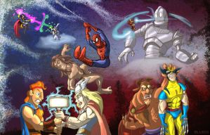 Marvel vs Disney by mlock