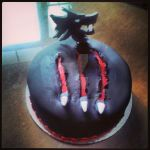 Gangrel cake by LadyWyrm