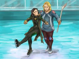 On Ice by Nako-13-yeh