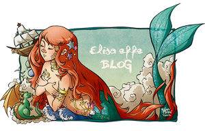 The marmaid and the blog by ElisaFerrari