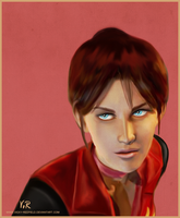 Claire Redfield RE: CVX by VickyxRedfield