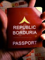 Bordurian Passport by engineerJR