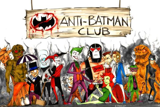 Anti Batman Club by wheels9696