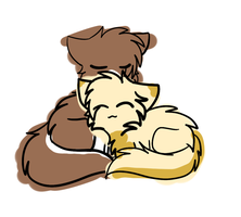 Snuggle Commish by Skycloud-Nya