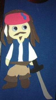 Captain Jack Chibi by Chikipuffs