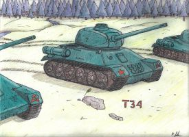 T-34 by EBOTD