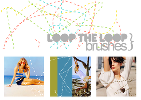 Loop the Loop Brushes by xshoot2thrill