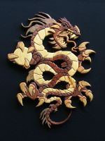 Chinese Dragon by RamageArt