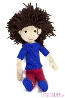 Crocheted Doll by Lithiumcarbonat