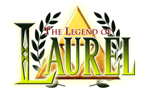 The Legend of Laurel Logo by FoxxBrush