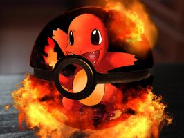 The pokeball of Charmander by Franco159487
