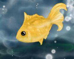 Gold Fish by realmofheaven