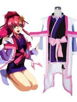 Gundam Seed/Destiny Lacus Clyne Cosplay Costume by morseedwina