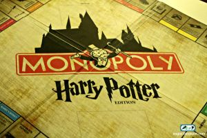 DIY Harry Potter Monopoly by SugiAi