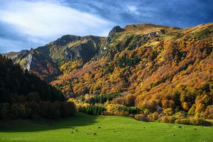 Autumn in the Mountains by LG77