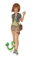 OC - Pokemon Trainer by Synczoid