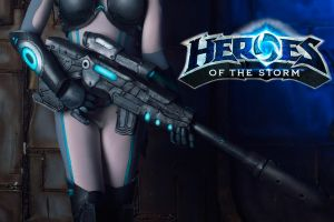 Teaser Nova from Heroes of the storm =) by Jane-Po