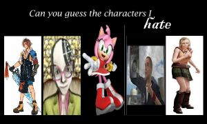 My Top 5 Most Hated Video Game Characters by tewbacca