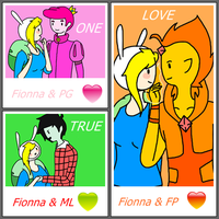 One True Love (Fionna choose your prince) by The-Human-Girl