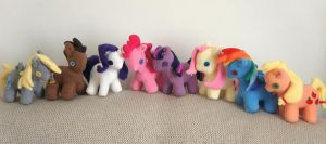 My little pony- Group- for sale by Kazeki-chan