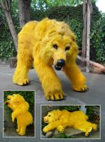 Golden Bear Quadsuit by LilleahWest