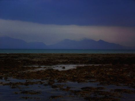 Mountains Beyond The Sea by AdroitSchizoid