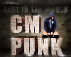 cm punk by Ss121 by SS121