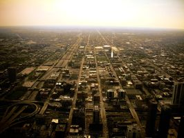Chicago From Above by RayOfLight1005