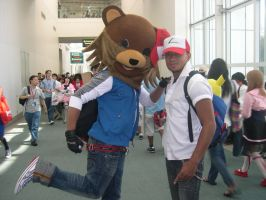 Pedobear Ketchum by WildFantasy