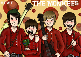 The Monkees by EVIE128