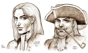 Pirate Portraits by Tarzman
