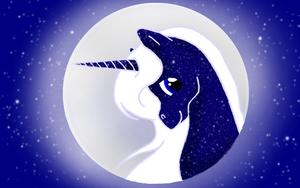 Belong to the Moon by WhiteWing1