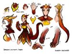 Dragon Cultist Concepts by Twokinds