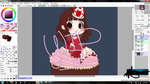 WIP Cupcake Princess by Otp