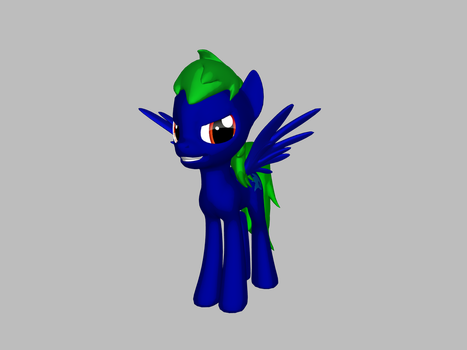 My OC in 3D!!! by beemer123