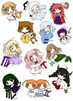 .:chibi zodiac characters set by Kawaii-Lisa-chan