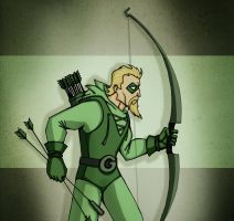 Green Arrow by ZlayerOne