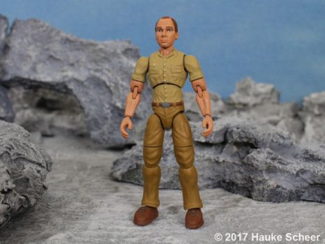 Portraid figure 3D printed with durable resin A by hauke3000
