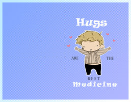 Hugs and Medicine by Mrspaper